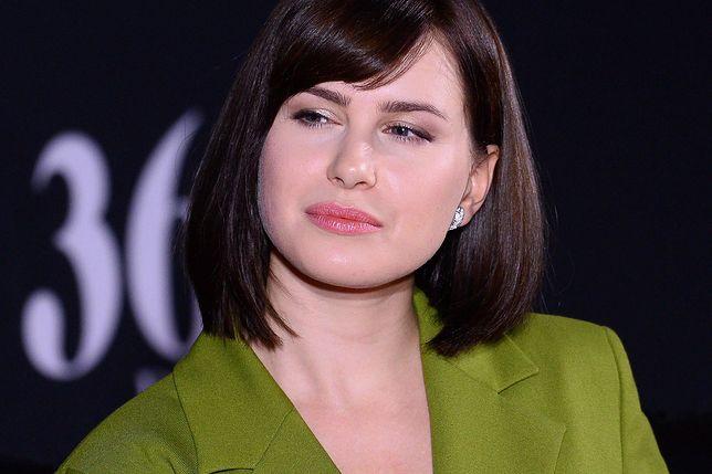 """Anna Maria Sieklucka cięższą pracę musiała wykonać podczas wywiadu niż na planie """"365 dni"""""""