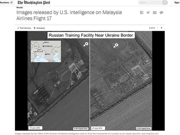 Wywiad USA publikuje dane, świadczące o współudziale Rosji w zestrzeleniu samolotu nad Ukrainą