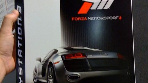 Krótka piłka: Forza Motorsport 3 na PS3 tylko w GameStop