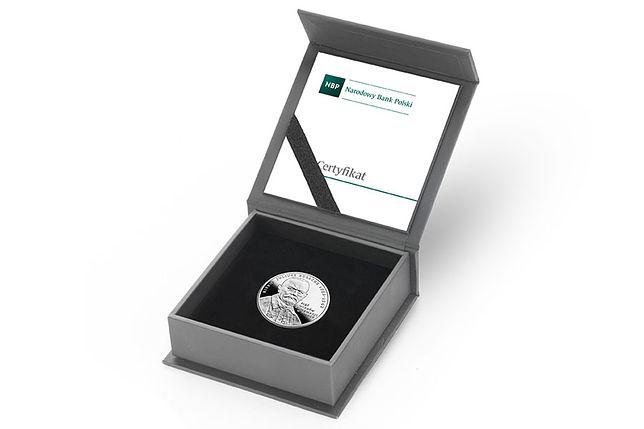 Srebrna moneta NBP upamiętniająca Reformację