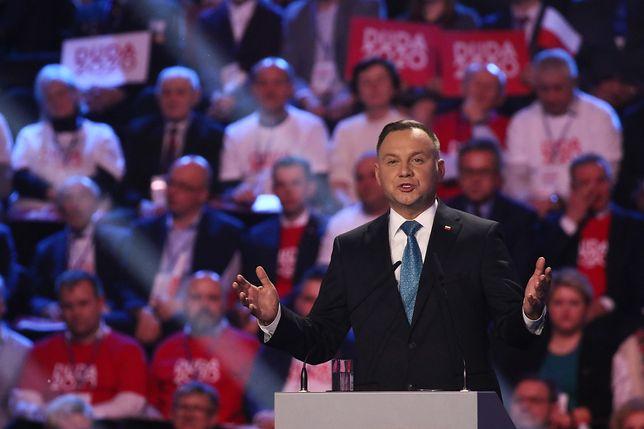 Kto skasował historię obietnic Andrzeja Dudy z kampanii wyborczej sprzed 5 lat?