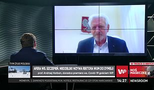 Koronawirus w Polsce. Prof. Andrzej Horban byłby skłonny poprzeć pomysł obowiązkowych szczepień