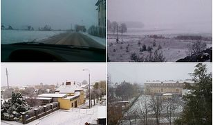 Spadł pierwszy śnieg na Pomorzu! Miasta są całe w białym puchu
