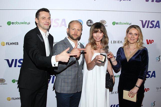 Laureatką Diamentowego Klapsa Filmowego została Agnieszka Dygant.