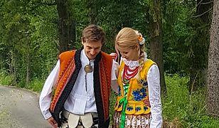 Kamil Stoch postanowił założyć tradycyjny strój góralski.