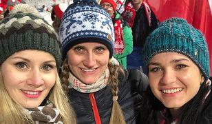 Partnerki polskich skoczków olimpijskich przyleciały do Korei.
