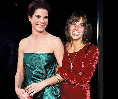 Sandra Bullock obecnie i dwadzieścia lat temu. Zmiany są wyłącznie na plus