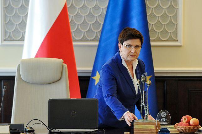 Beata Szydło: jestem zadowolona z pracy Antoniego Macierewicza