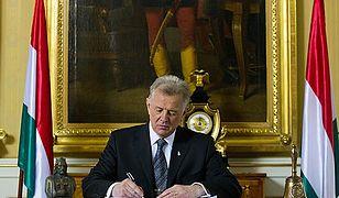 Afera na Węgrzech - prezydent oskarżony o plagiat