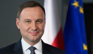 """Andrzej Duda wyśmiewa doniesienia o wykorzystaniu botów w kampanii. """"Typowy fake news"""""""