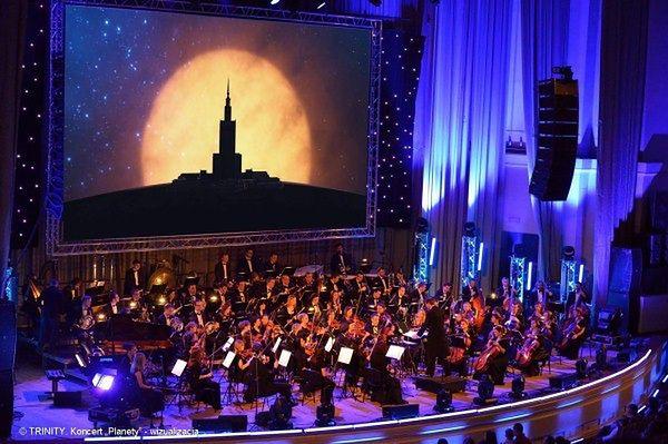 Sala Kongresowa zmieni się w największe planetarium na świecie!