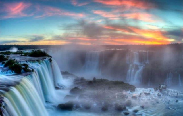 Miejsce 1. Iguazu, Argentyna