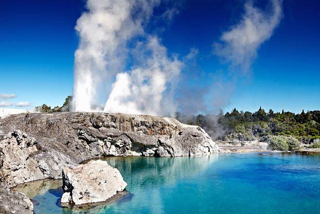 Niesamowite gejzery -  Pohutu, Nowa Zelandia