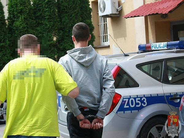 Jeden z zatrzymanych