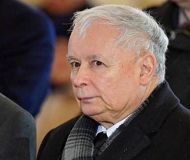 Podczas kampanii samorządowej Jarosławowi Kaczyńskiemu towarzyszyli ochroniarze