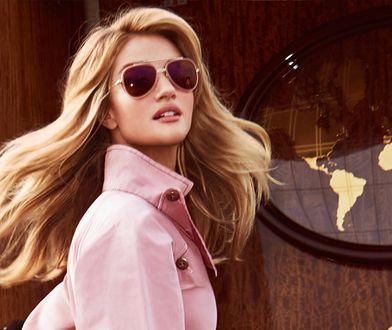 "Lotniskowa moda Rosie Huntington-Whiteley w ""InStyle"""