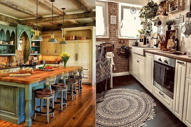 Wyróżnikiem kuchni w stylu rustykalnym jest przytulność