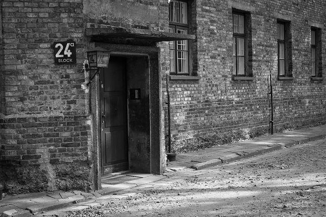 Dom publiczny w Auschwitz mieścił się na piętrze bloku nr 24