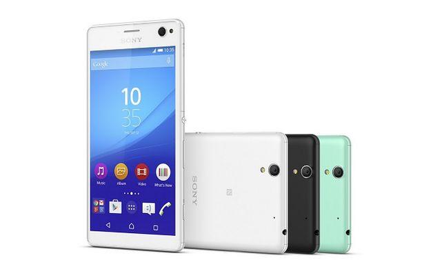 Sony Xperia C4 - nowy smartfon dla fanów selfie