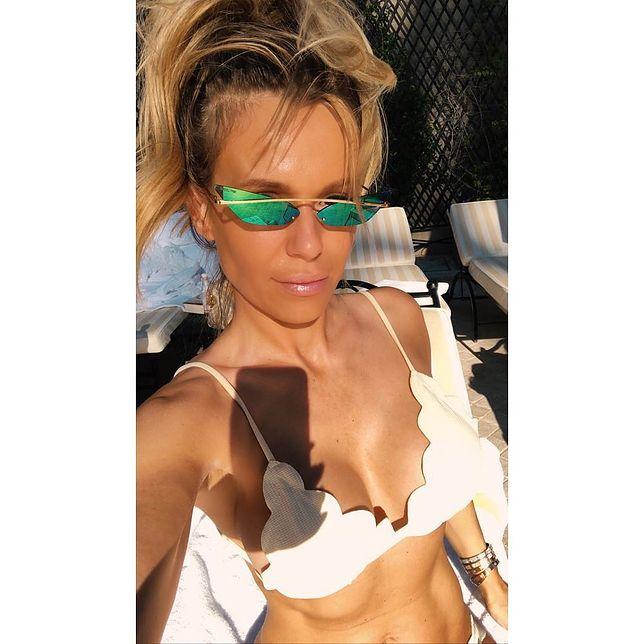 Doda pozdrawia z Włoch. W bikini ''z serwetki''