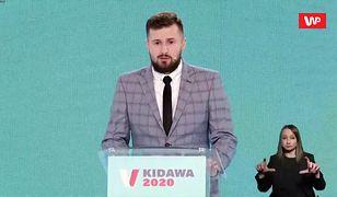 Kierowca słynnego seicento na konwencji Małgorzaty Kidawy-Błońskiej. Wspominał wypadek