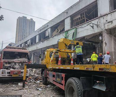 Chiny. Tragiczny wybuch gazu. Kilkanaście ofiar i dziesiątki rannych