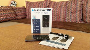 Blaupunkt FXS 01 — telefon wielkości karty kredytowej