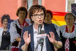 Skandal na wiecu z Elżbietą Witek. Posłanka Lewicy nie kryła oburzenia