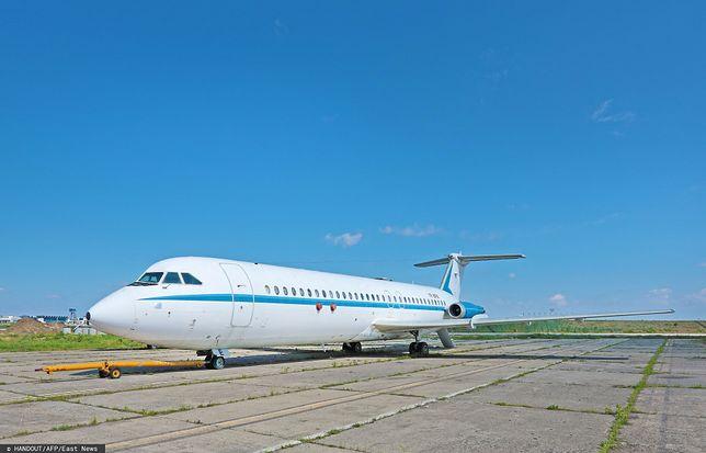Samolot Nicolae Ceausescu. Musi pozostać w Rumunii