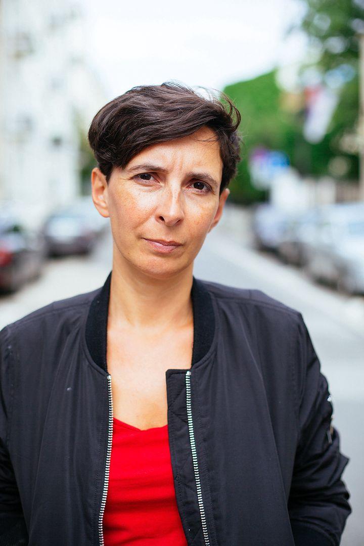 """Klementyna Suchanow, autorka książki """"To jest wojna. Kobiety, fundamentaliści i nowe średniowiecze""""."""