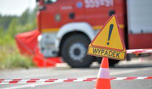 Warszawa. Zderzenie czterech samochodów na Ochocie
