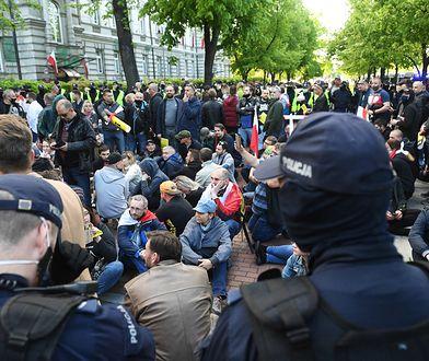 Strajk przedsiębiorców. Policja podsumowała protest