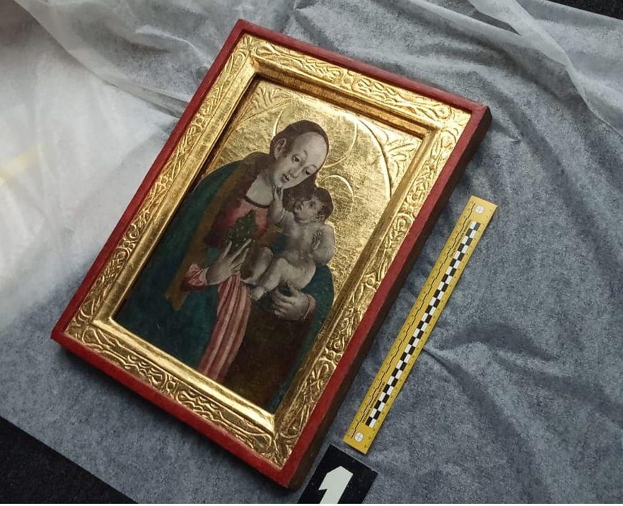 Obraz, który skradziono z kościoła w Żębocinie, jest warty ok. stu tysięcy złotych