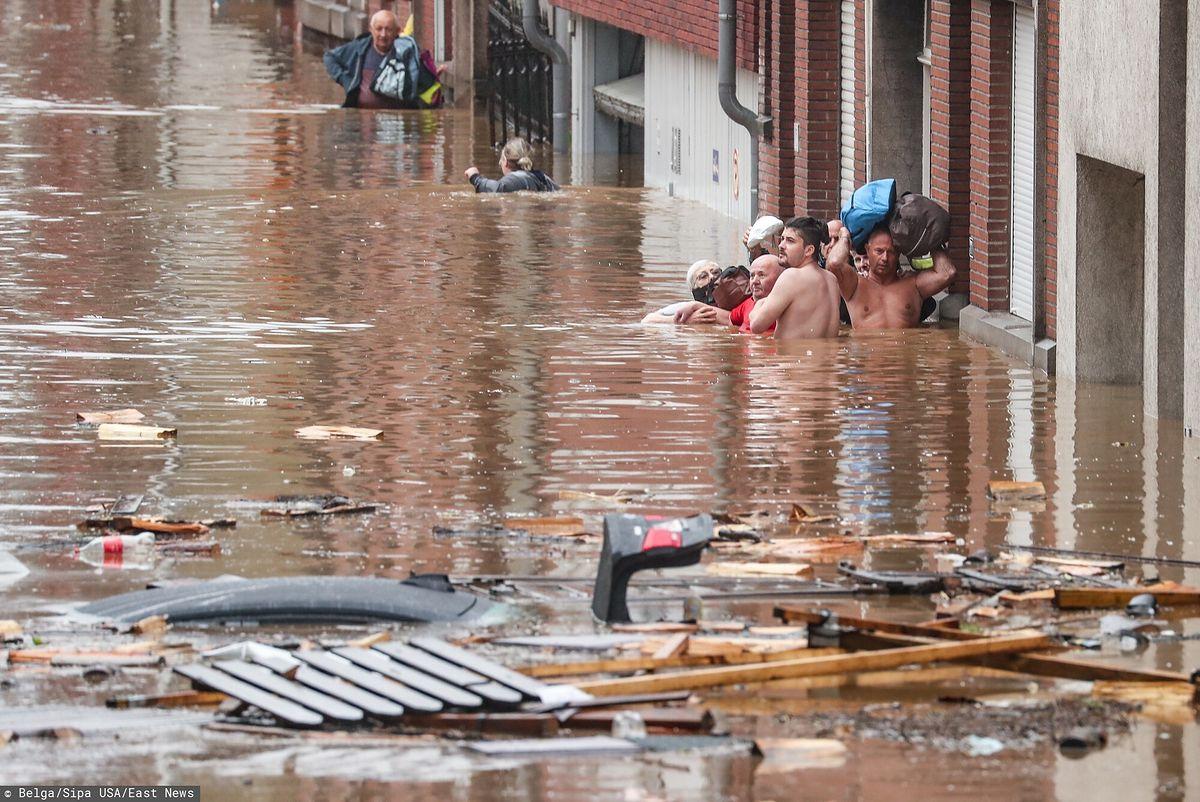 Powódź w Belgii. Wśród poszkodowanych są też Polacy