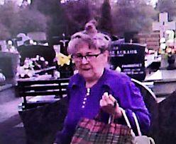 Oburzający incydent na cmentarzu. Policja szuka tej kobiety
