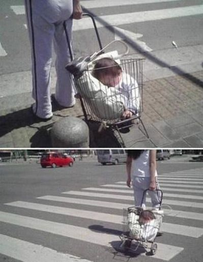 Wożenie dziecka w wózku. Robisz to źle!