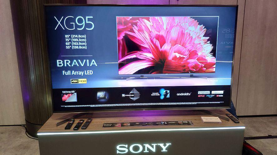 Sony lada moment rozpocznie sprzedaż nowych telewizorów Full Array LED 4K HDR z serii XG95