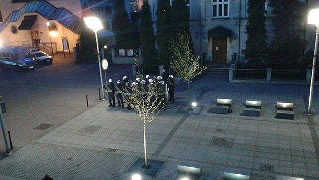 Akcja policji w Katowicach. 21 anarchistów zatrzymanych