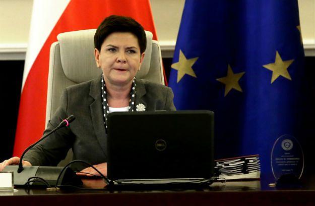 Premier Beata Szydło: nie przewiduję zmian personalnych w rządzie