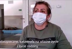 """Irakijka na nagraniu Straży Granicznej. """"Chce wrócić"""""""