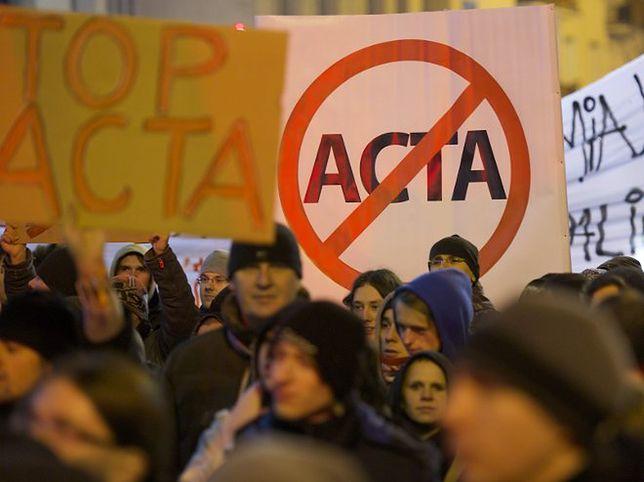 ACTA: będą kolejne uliczne manifestacje