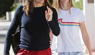Jennifer Garner z córką, 13-letnią Violet Affleck spędziły dzień w Santa Monica.