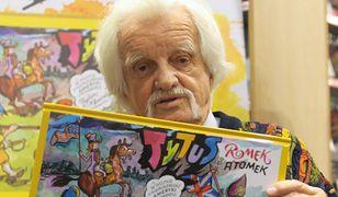 Papcio Chmiel narysował jeszcze jeden komiks. Mamy jego fragment