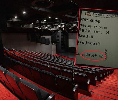 """Znalazł bilet do kina sprzed 14 lat. """"Myślałem, że było taniej"""""""