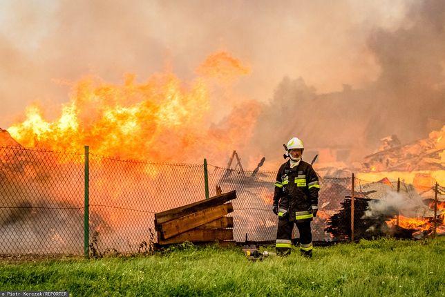 """Nowa Biała. Spłonęło wiele zabytkowych budynków. """"Straty są ogromne"""""""