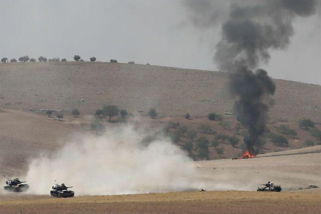 """Akcja """"Tarcza Eufratu"""" w Syrii. Rebelianci wyzwolili z rąk dżihadystów miasto Dżarabulus"""