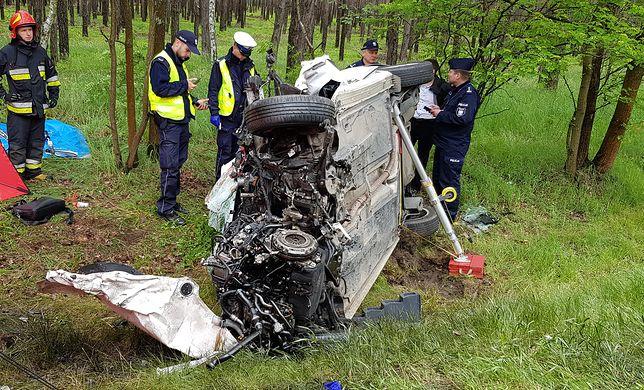 Śmiertelny wypadek w Wielkopolsce. Nie żyje 43-latek