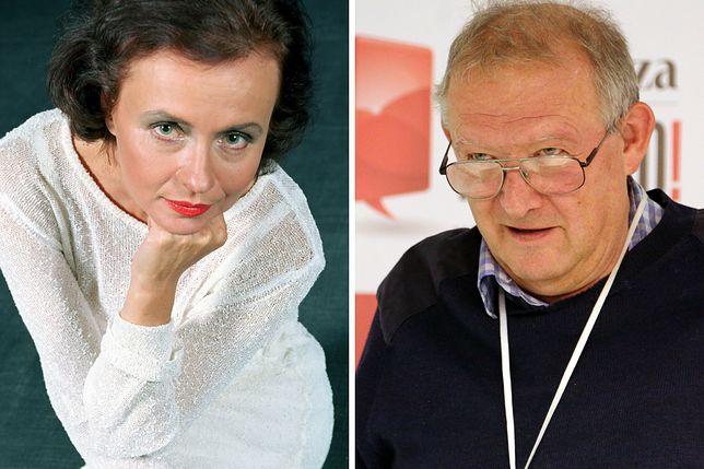 Joanna Szczepkowska i Adam Michnik byli parą