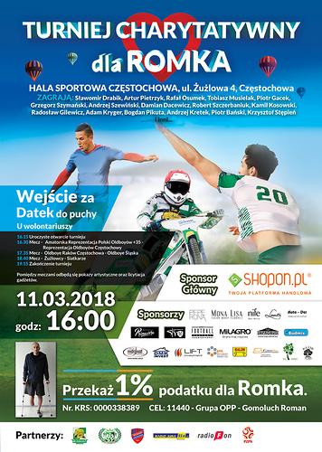 Plakat promujący turniej