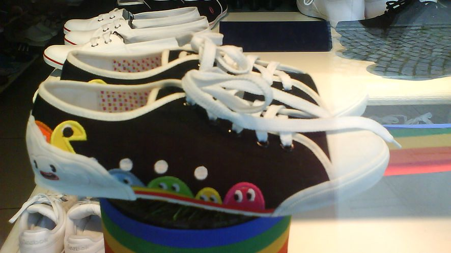Zakupowy weekend: buty z Pacmanem